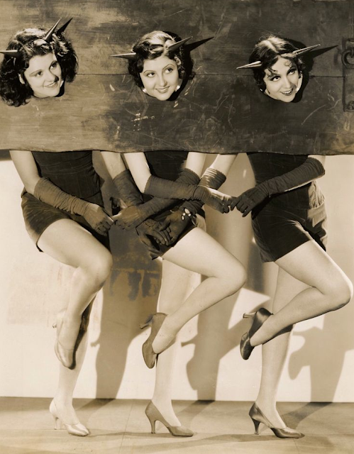 Lillian Roth, Marion Shilling and Rosita Moreno #1930s #1920s #vintage #halloween