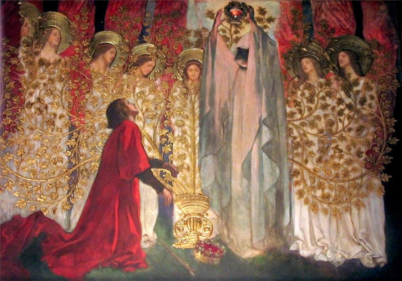 Edwin Austin Abbey painting