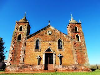 Igreja São Caetano, Nova Esperança do Sul, RS
