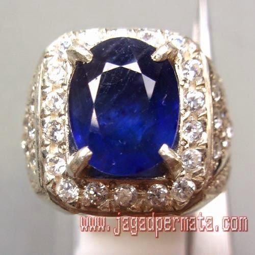 Batu Permata Natural Royal Blue Safir