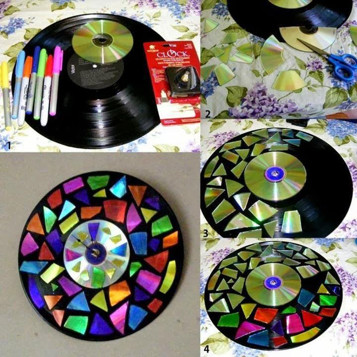 Manualidades con tokio hotel - Manualidades con discos ...