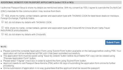 Step8: Apply for Fresh Passport\Re-issue Passport Online image 2