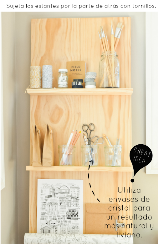 DIY botes de conserva workspace