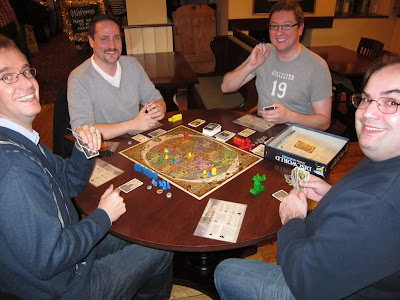 Discworld: Ankh-Morpork - The players early in the game