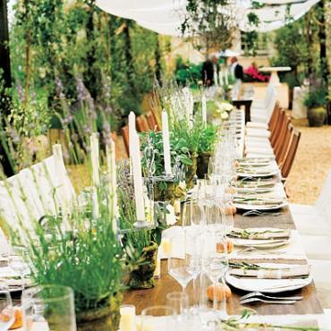 Natural inspired weddings a monique affair for Ideanature