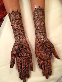 Mehndi - Henna Designs For Eid-Ul-Fitr 2015-2016