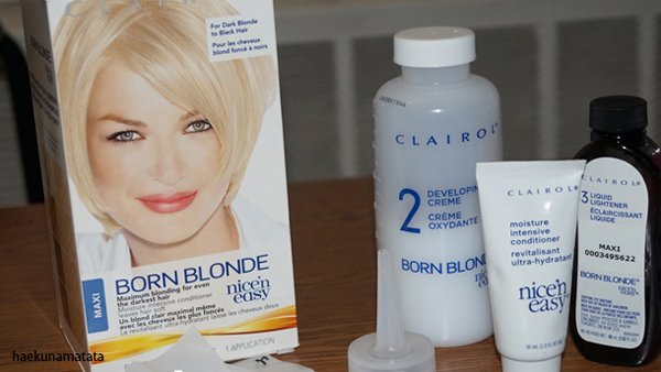 Asian Hair Bleaching Dye Clairol Born Blonde