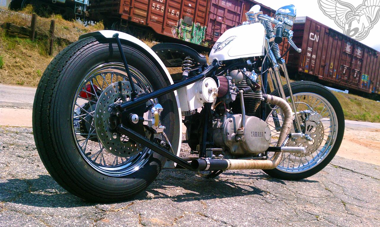 Reader Rides Tonys Xs650 Bobber Bikermetric White Honda Rebel