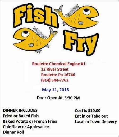 5-11 Fish Fry, Roulette VFD