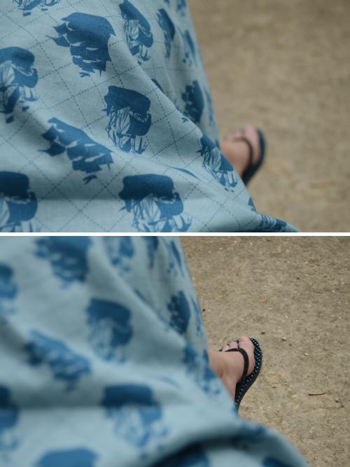 outfit, ootd, detail, Paris, navy, 1950s, Galliera, handmade, diy, sail, dress, flip flops