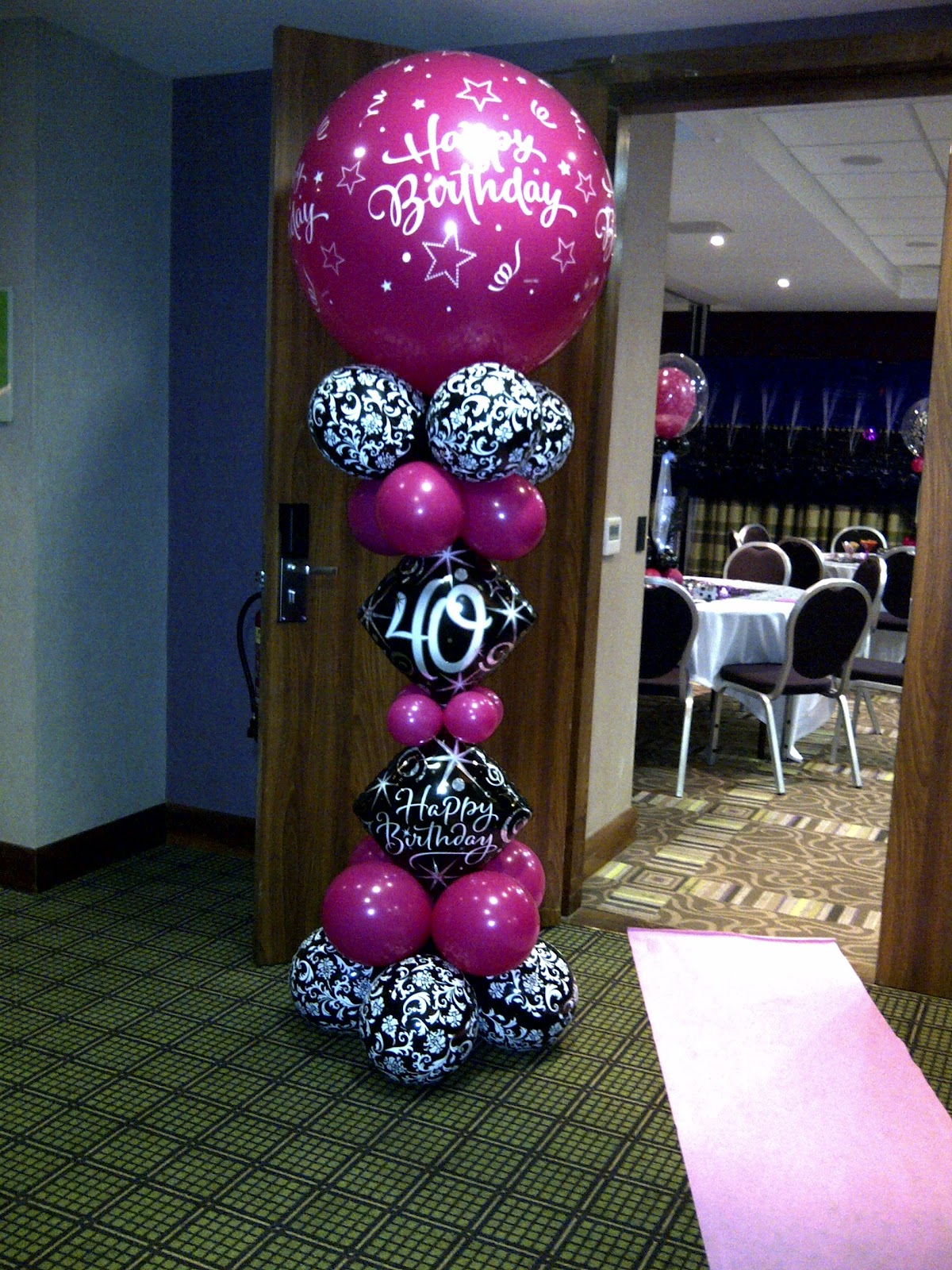 Welcome to party buds 39 balloon world professional for Birthday balloon ideas
