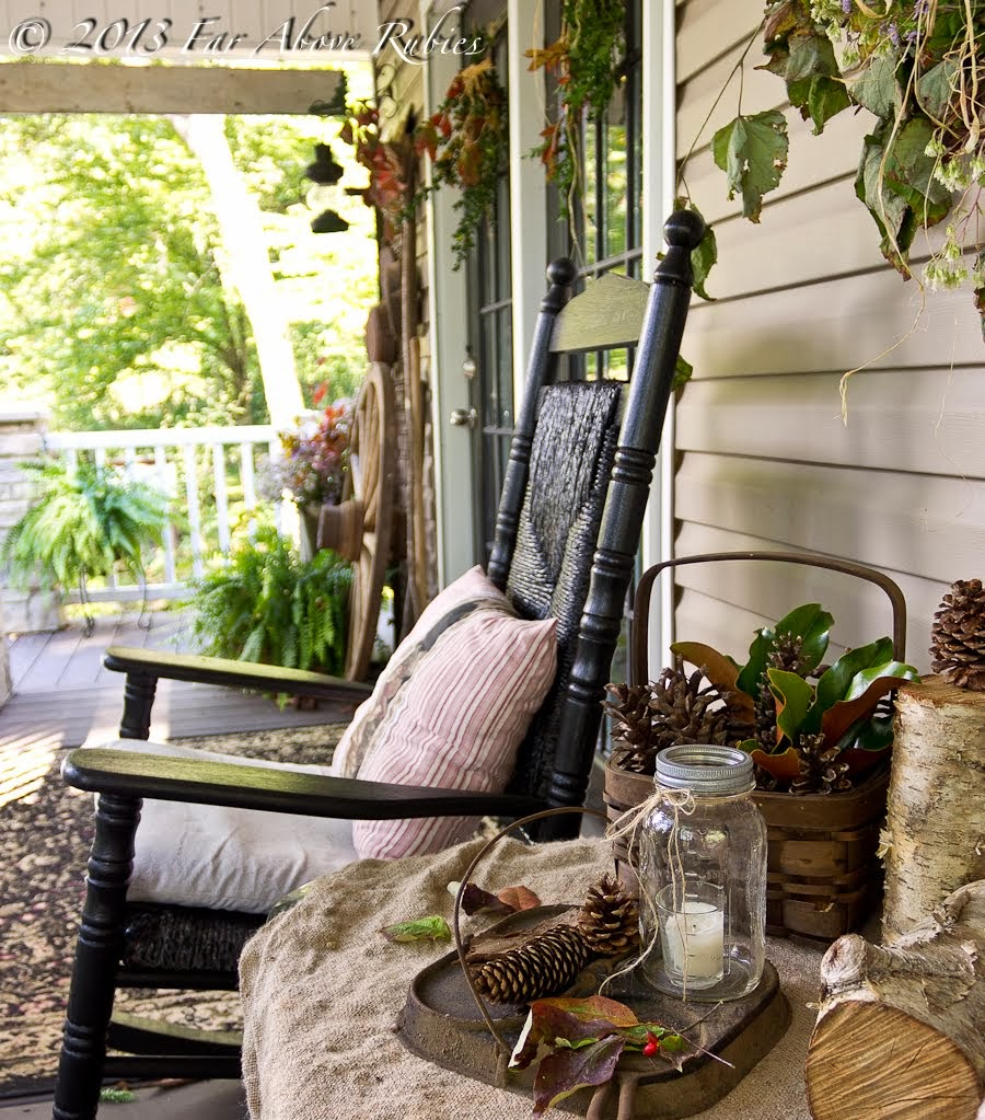 Carolina Autumn Porch Tour!