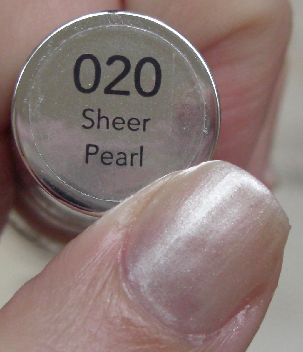 Revlon Sheer Nail Polish: Glitter Obsession: March 2012