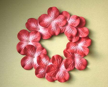 Цветы из ткани желатинить