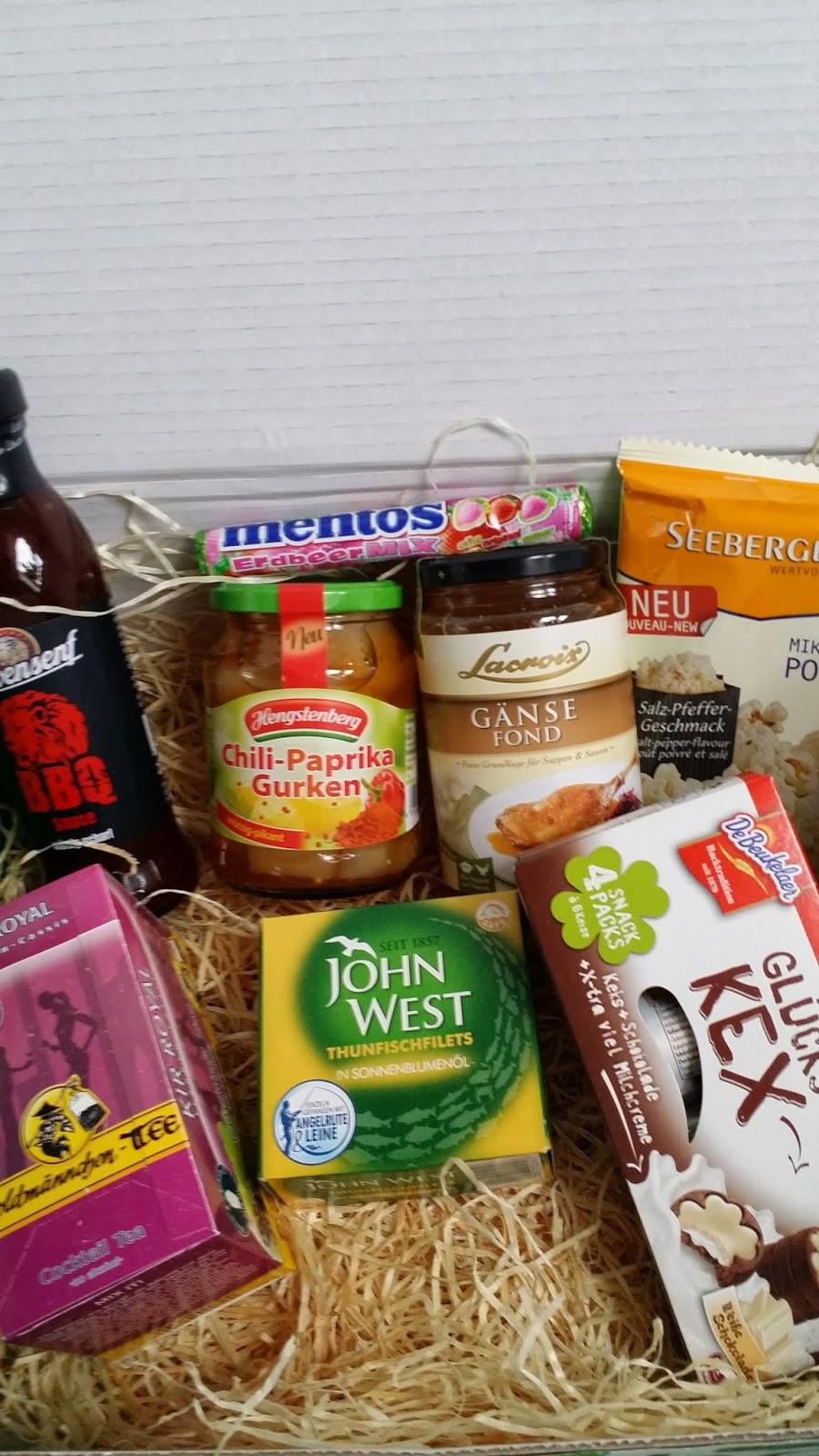 Überraschung Box Lebensmittel