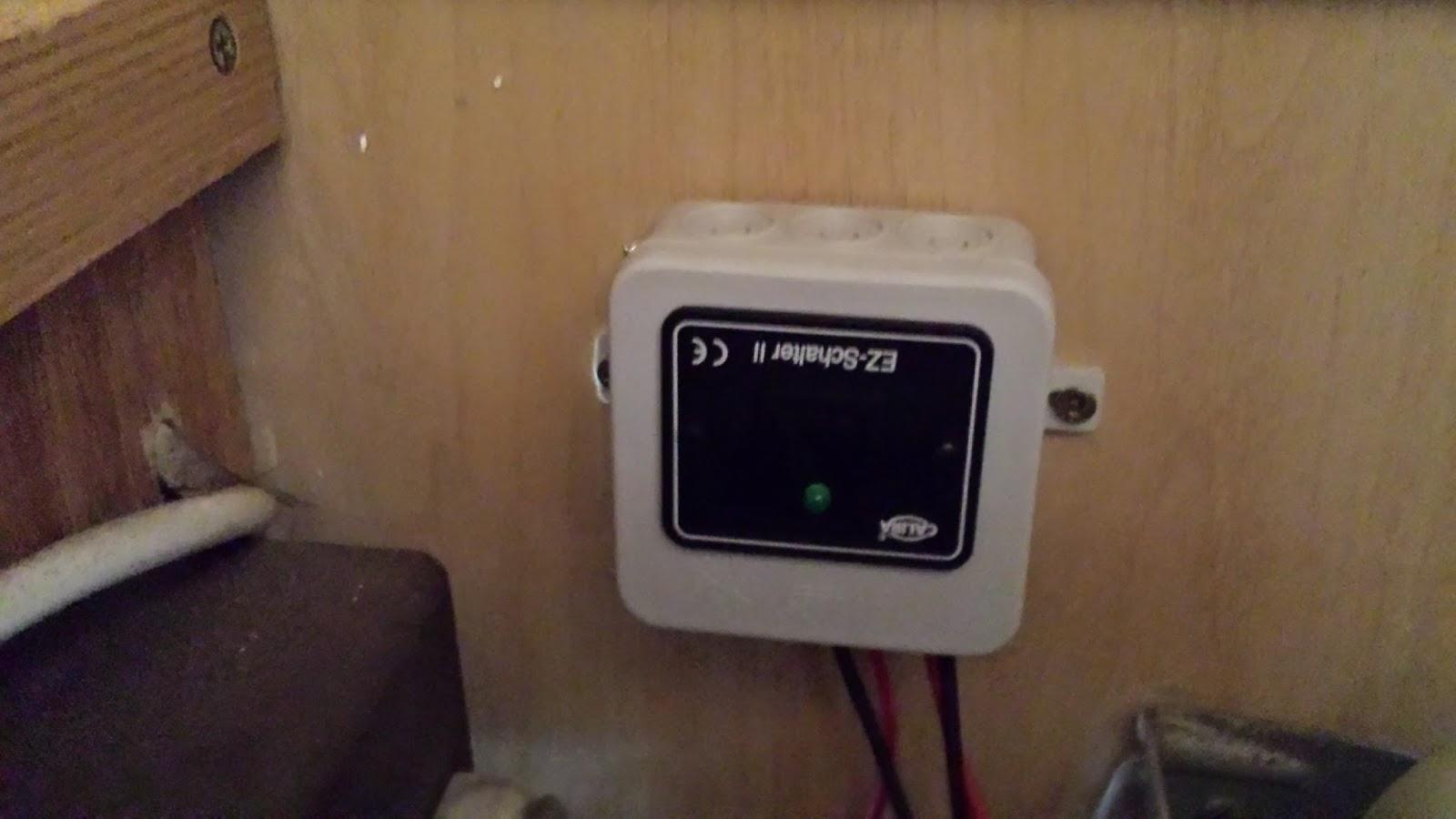 Aufbau Kühlschrank Thermostat : Einbau lüfter hinter den kühlrippen wohnwagen absorber kühlschrank
