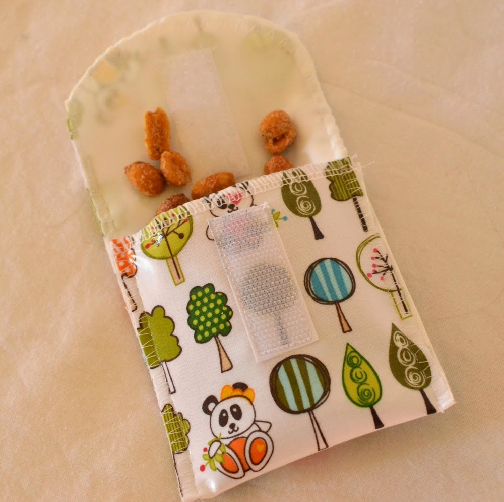 Snack Pouches sewing tutorial
