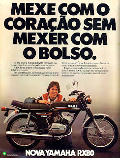 propaganda moto Yamaha RX80 - 1979