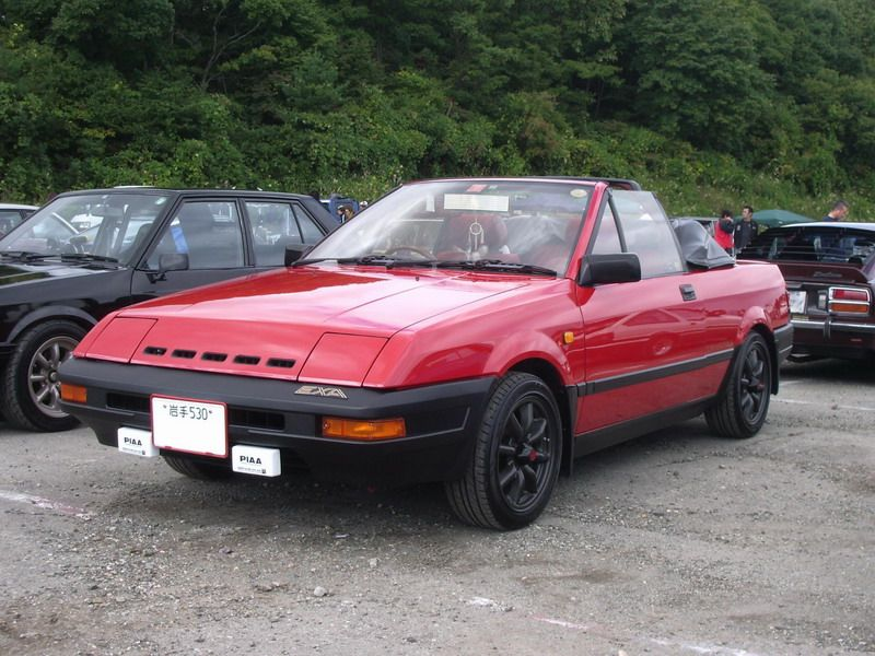 Nissan Exa, ciekawe auta, unikalne samochody, JDM