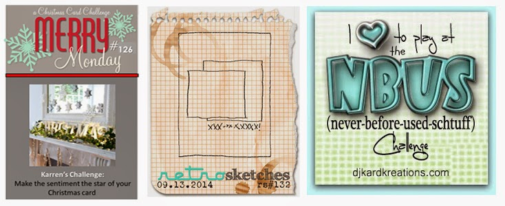 UK Stampin' Up demonstrator Vicky Hayes links up with card challenges