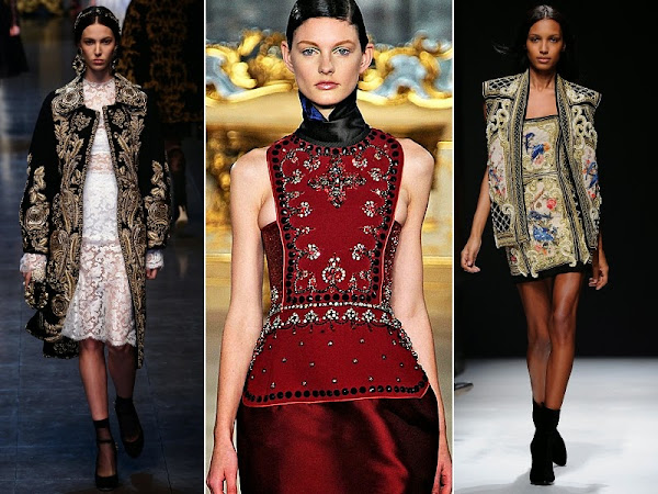 GUEST POST:Top Trends for Autumn/Winter 2012-2013