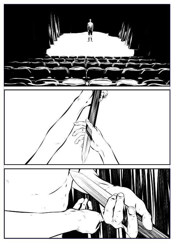 ©Mojo Wang - Mini Comic Story: Between Rivers #11