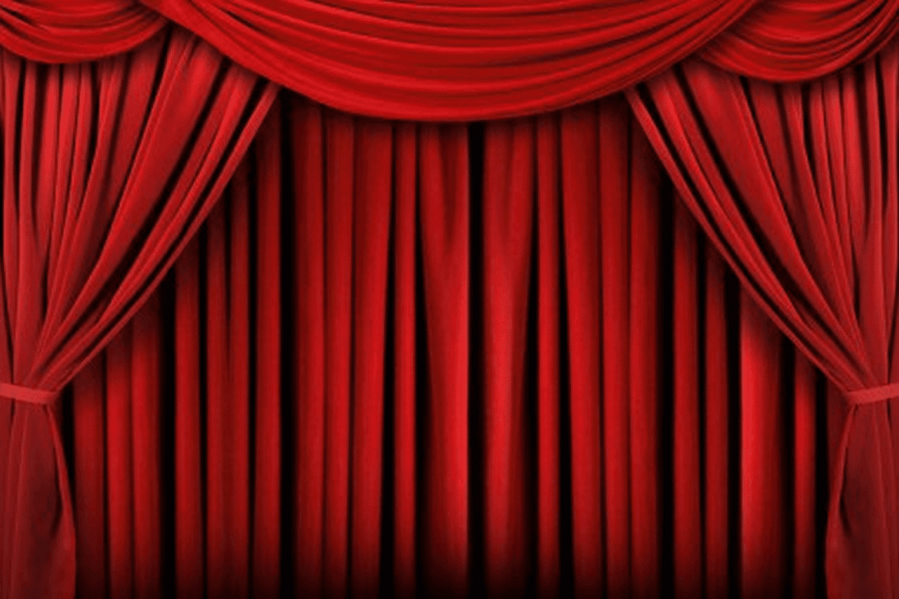 red curtains theatre - photo #23