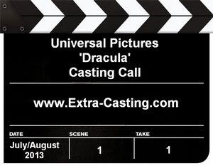 Universal Pictures Dracula Casting Call