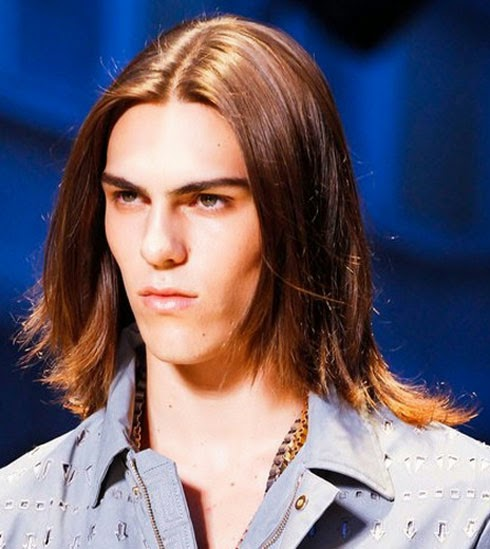 Long Hairstyles for Men with Straight Hair