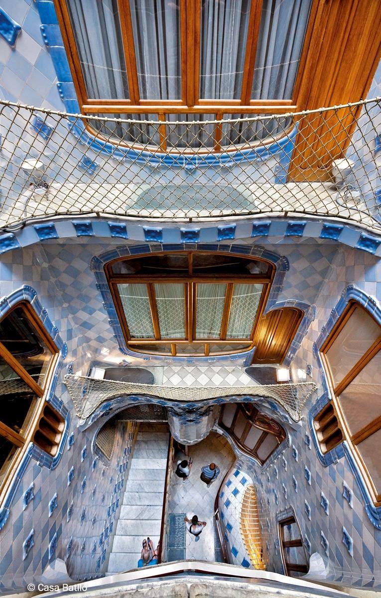 architecture casa batlló antoni gaudi barcelona spain art for