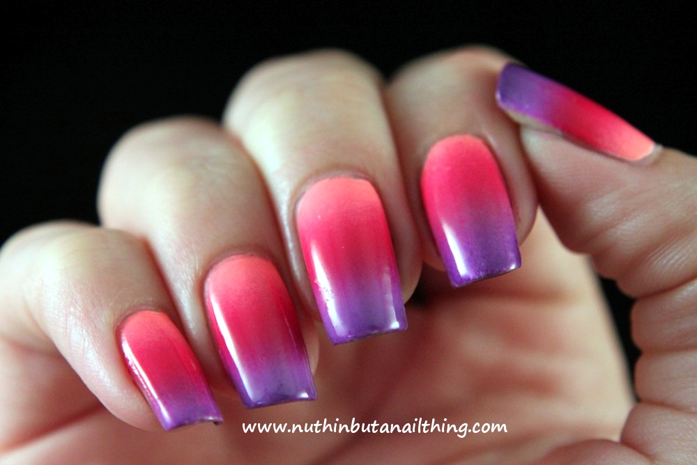 Nuthin But A Nail Thing Gradient Nails Tutorial And Tips