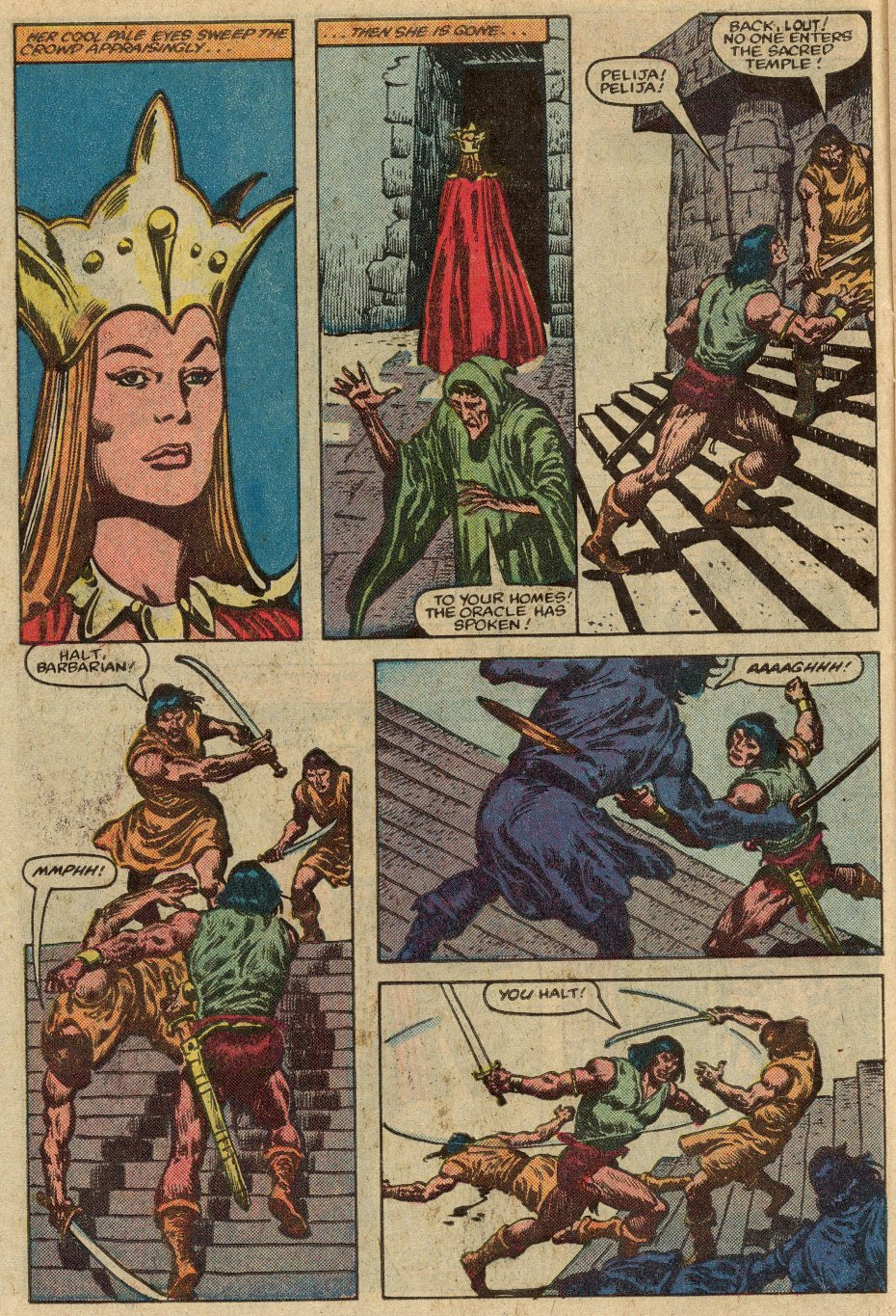 Conan the Barbarian (1970) Issue #147 #159 - English 9