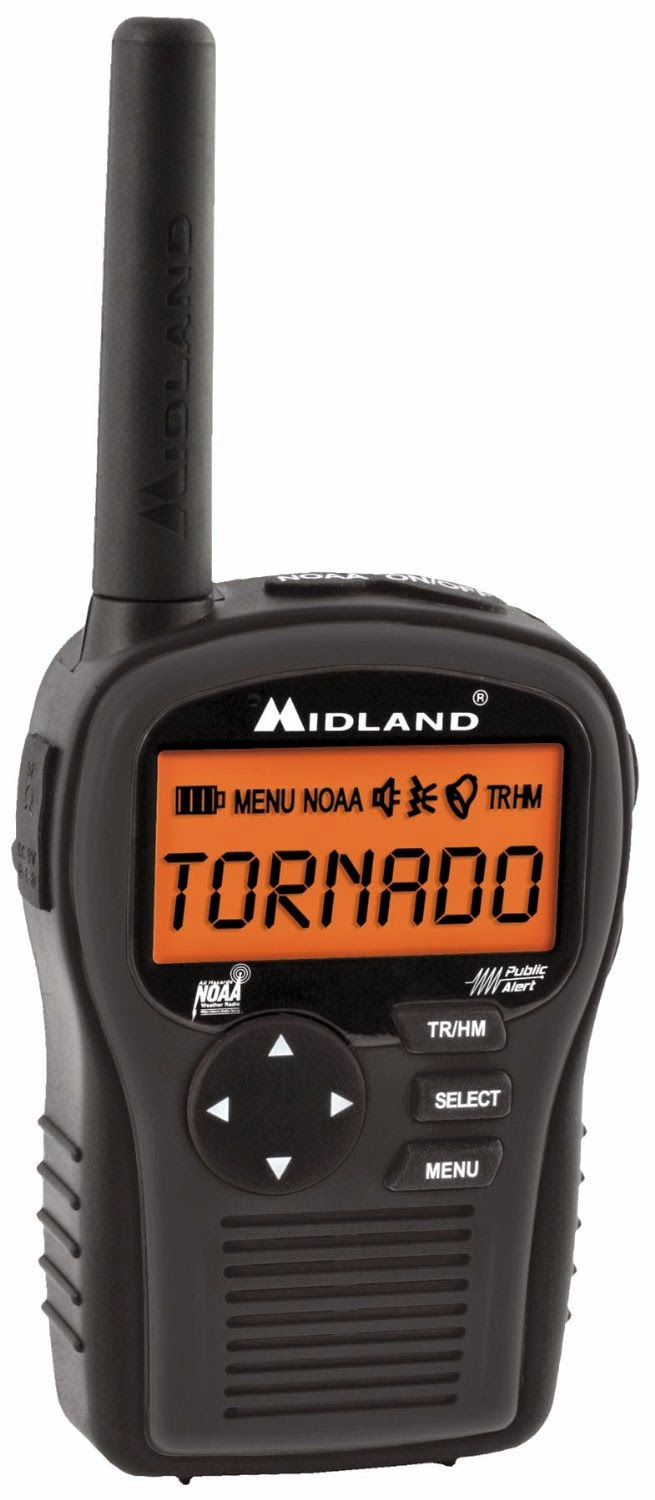 Midland HH54 Portable Weather Radio
