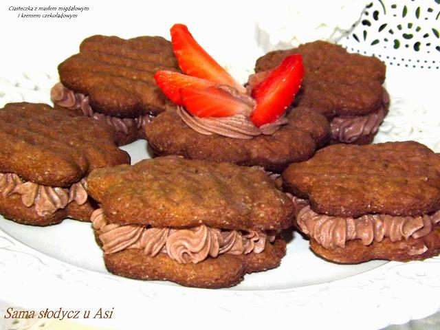 Ciasteczka z masłem migdałowym i Ziarenkami Cynamonowy Raj