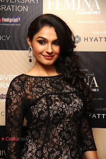 Tamil Actress Andrea Latest Pictures in Black Mini Lace Dress at Femina Tamil 2nd Year Anniversary Issue Launch  0001.jpg