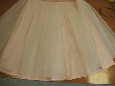 balza in tulle,come cucire sottogonna da sposa,come cucire balza in tulle