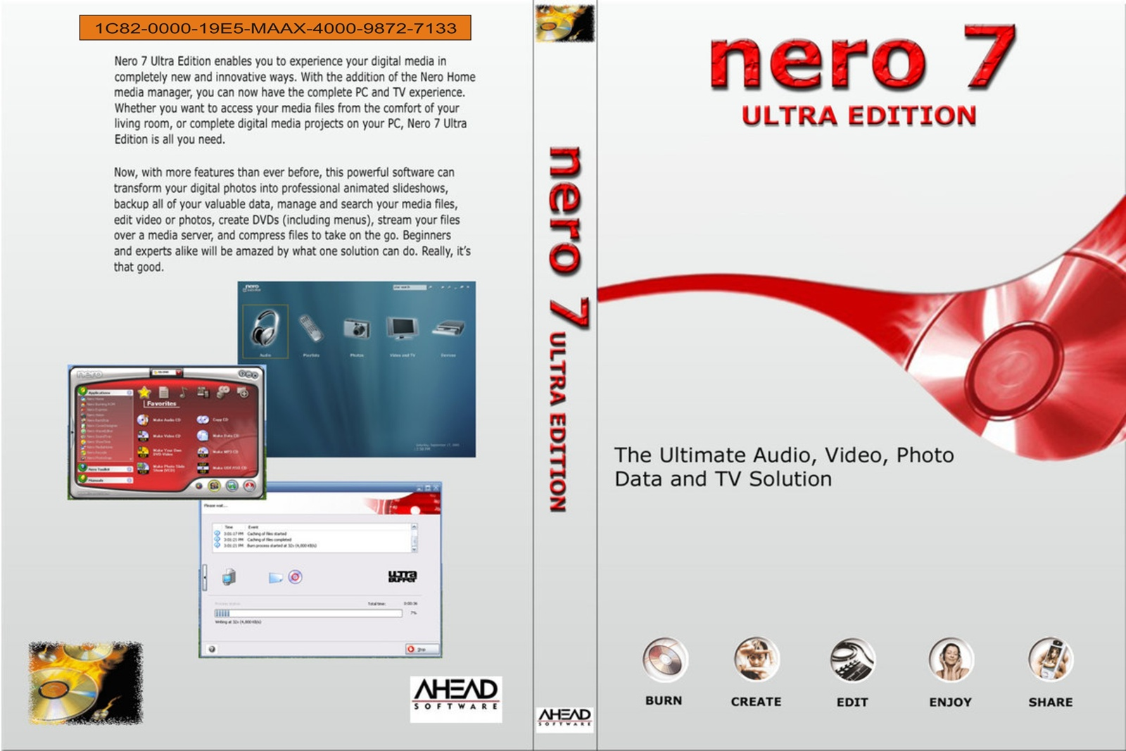 nero 7 ultra edition full version free download