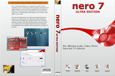Nero 7 Ultra Edition Completo CD Capa