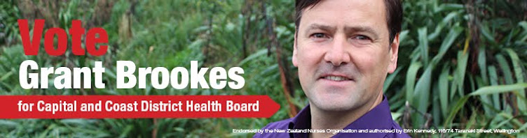 Vote Grant Brookes for Capital & Coast DHB