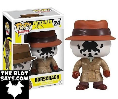 Watchmen Pop! Vinyl Figures Series 1 by Funko - Rorschach