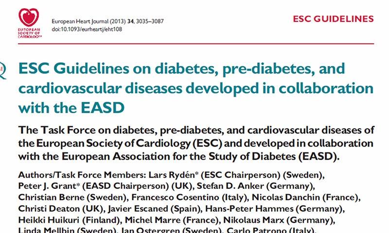 RedgedapS: Guía de práctica clínica de la Sociedad Europea