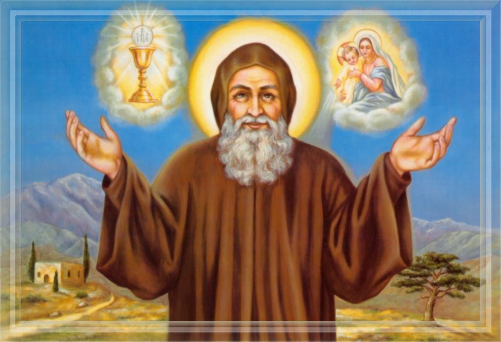 Saint Charbel Drawings Feast Day of Saint Charbel