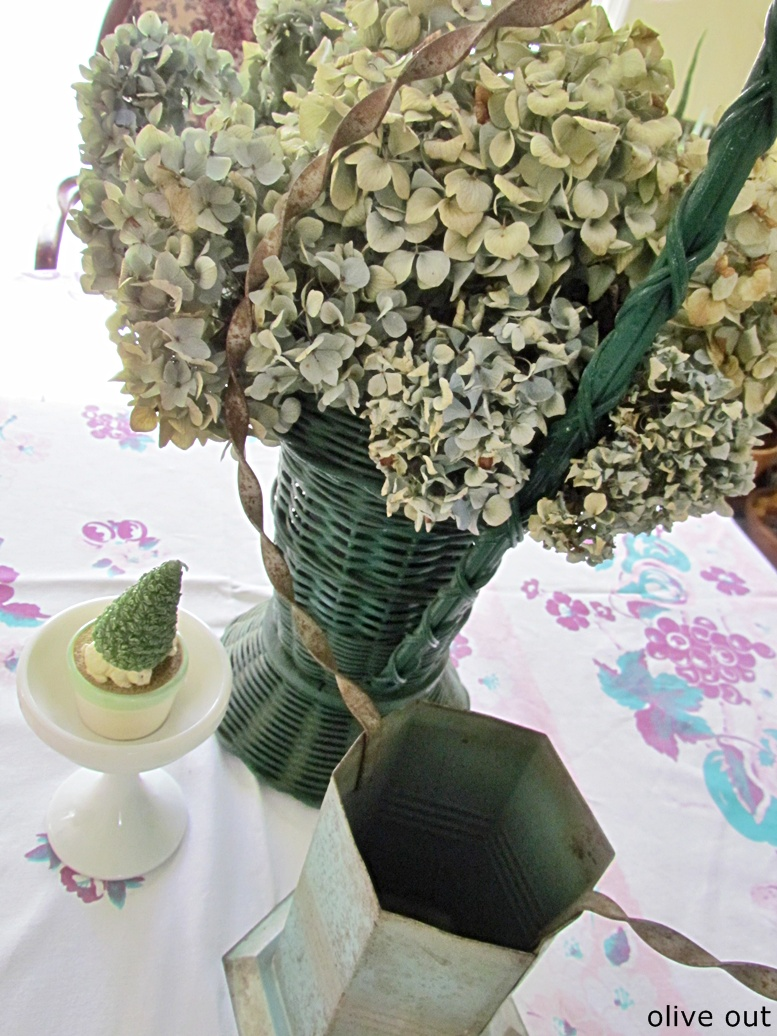 Olive Out Funeral Baskets