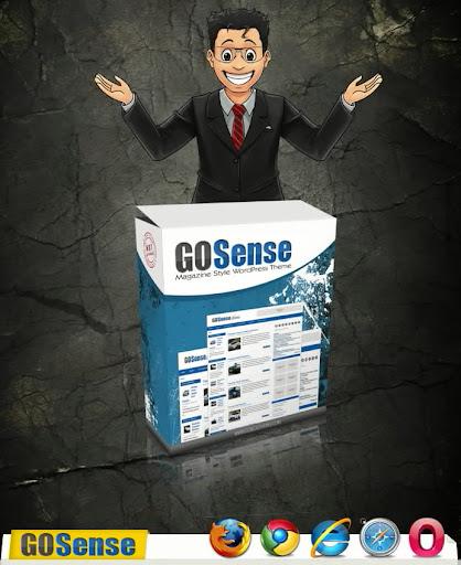 GOSense WP theme