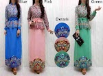 Maxi Songket Kombi Katun Bordir SOLD OUT