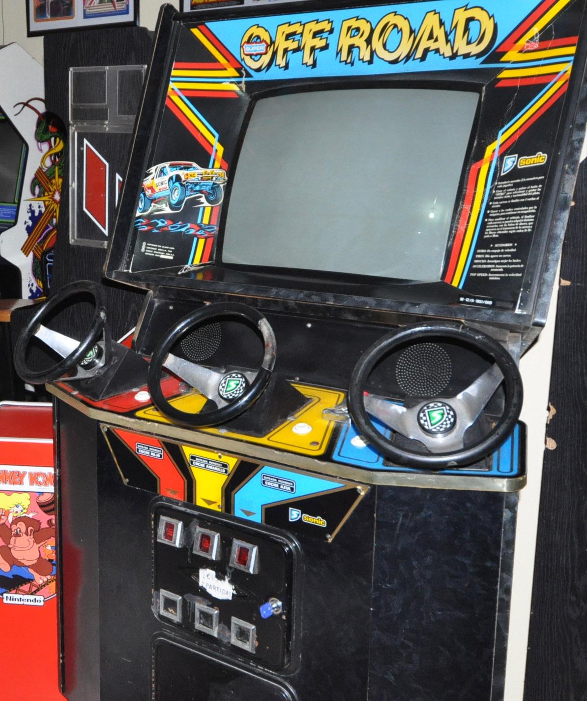 Super Off Road , arcade vintage, www.arcadevintage.es