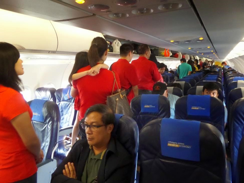 philippine airlines a320 economy