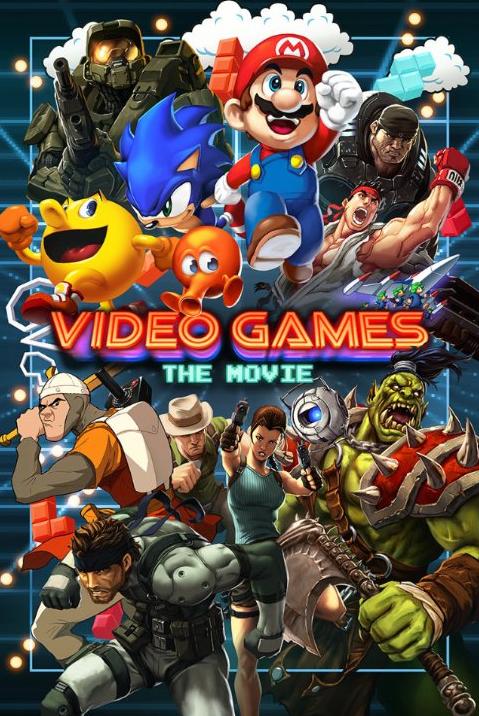 capa Download – Video Games: The Movie – HDRip AVI Dual Áudio + RMVB Dublado e RMVB Legendado ( 2014 )