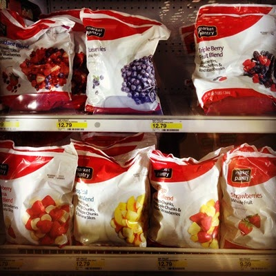 Vegan Vegetarian Food Groceries at Target Market Pantry Frozen Fruit