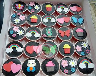 Cupcakes - Choc Ganache